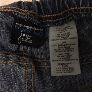 Just My Size Jeans - Plus size Jeans with elastic waistband